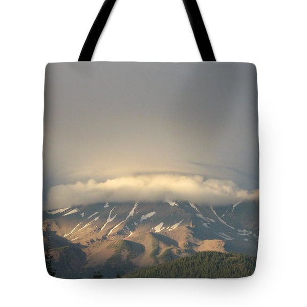 Mount Shasta - Icing On The Cake Tote Bag