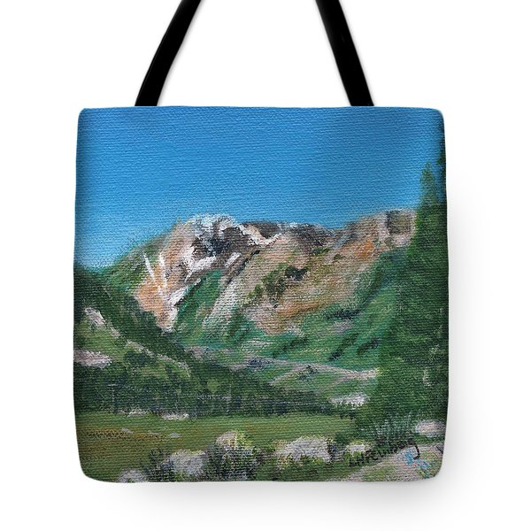 Mount Superior Tote Bag