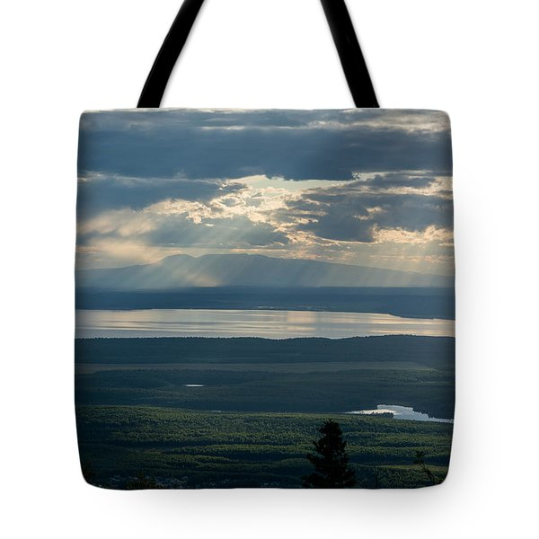 Mount Susitna Tote Bag