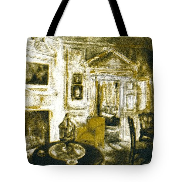 Mount Vernon Ambiance Tote Bag by Kendall Kessler