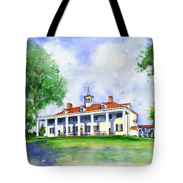 Mount Vernon Front Tote Bag