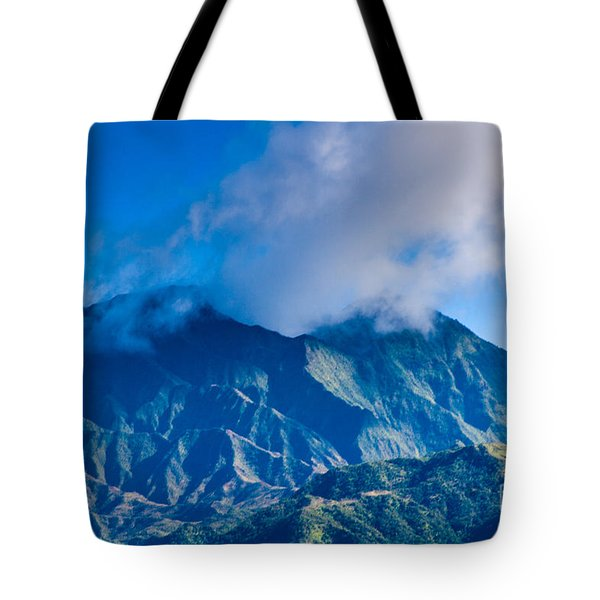 Mount Wai'ale'ale  Tote Bag