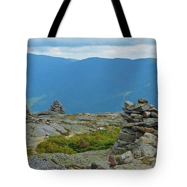 Mount Washington Rock Cairns Tote Bag