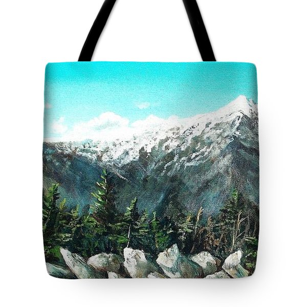 Mount Washington Tote Bag