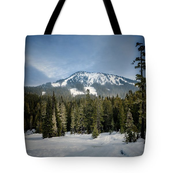 Mount Washington Slopes Tote Bag