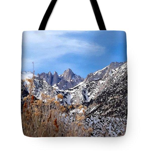 Mount Whitney - California Tote Bag