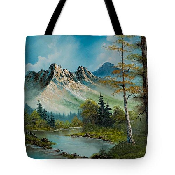 Mountain Retreat Tote Bag