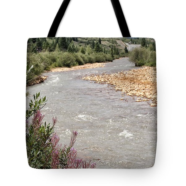 Mountain Creek Tote Bag by Melany Sarafis
