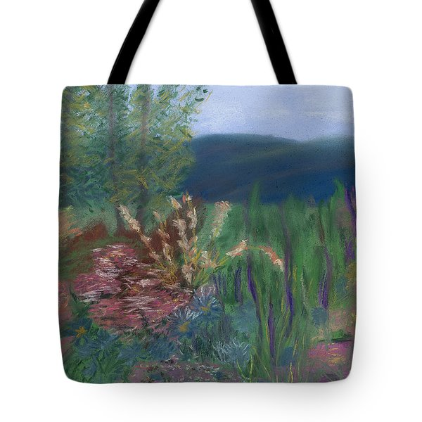 Mountain Garden Tote Bag by Dana Strotheide