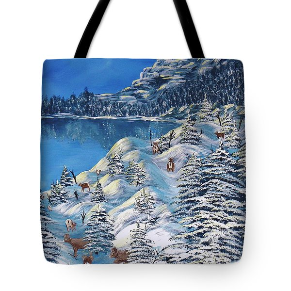 Mountain Goats Of Grand Forks Tote Bag
