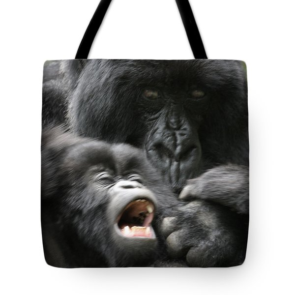 Mountain Gorilla Adf2 Tote Bag