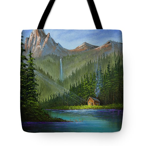 Mountain Haven Tote Bag by C Steele