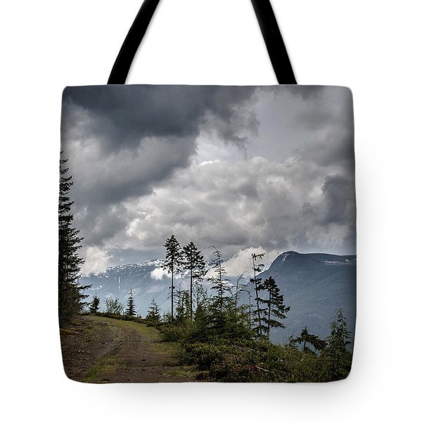 Mountain High Back Roads Tote Bag