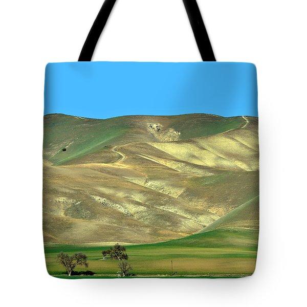 Mountain Hues Tote Bag by Susan Wiedmann