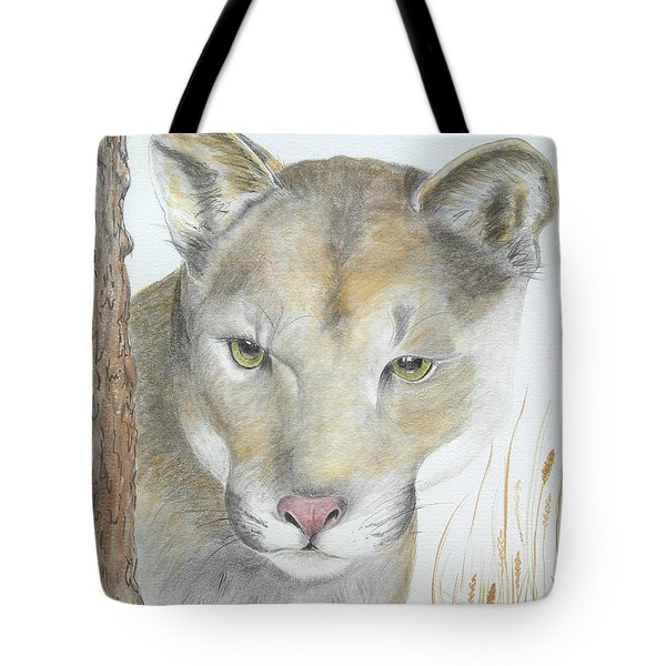 Mountain Hunter Tote Bag