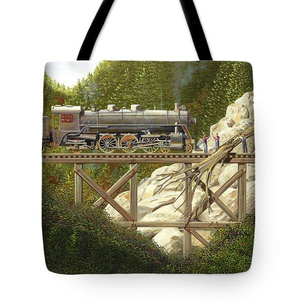 Mountain Impasse Tote Bag