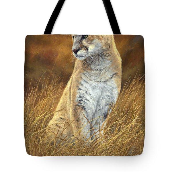 Mountain Lion Tote Bag