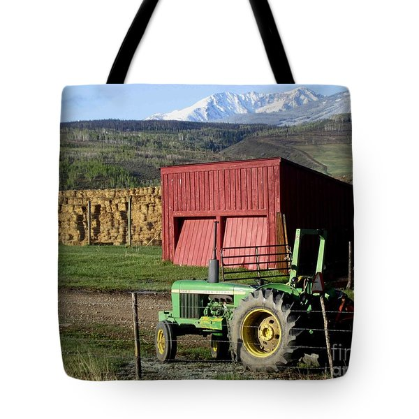 Tote Bag featuring the photograph Mountain Living by Fiona Kennard