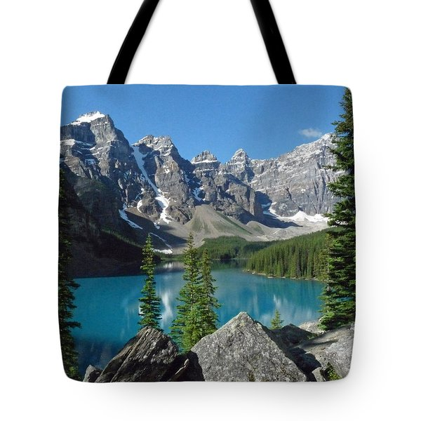 Mountain Magic Tote Bag by Alan Socolik