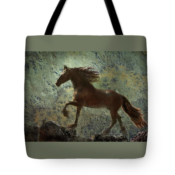 Mountain Majesty Tote Bag by Melinda Hughes-Berland