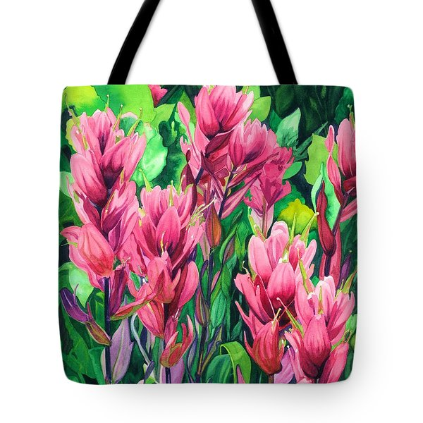 Mountain Meadows' Paintbrush Tote Bag