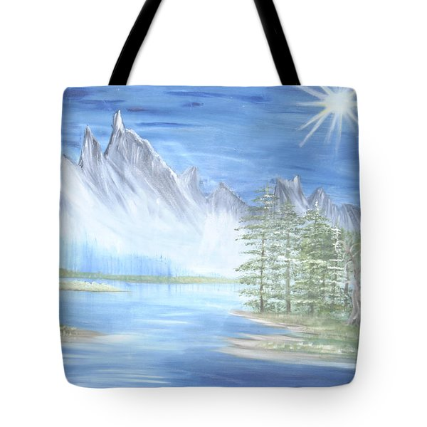 Mountain Mist 2 Tote Bag