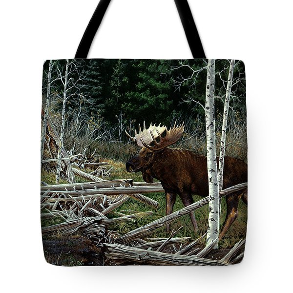 Mountain Monarch Tote Bag