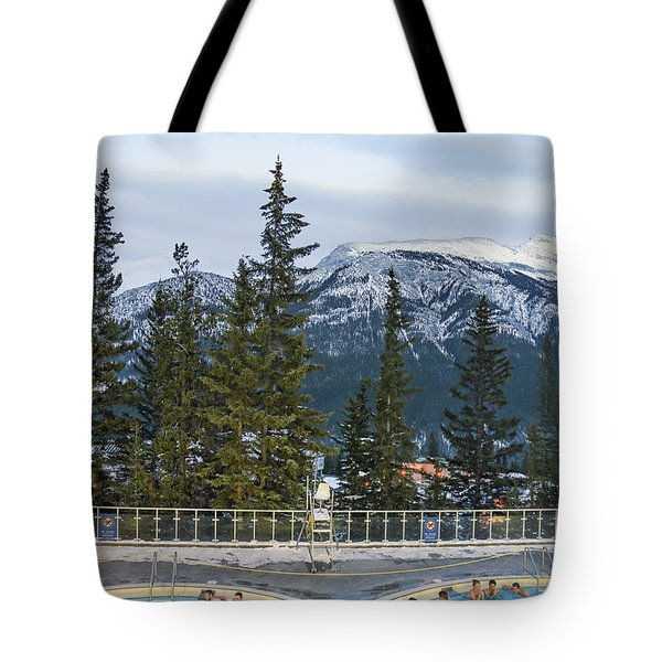 Mountain Paradise Tote Bag