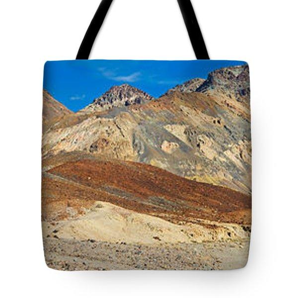 Mountain Range, Artists Drive, Death Tote Bag