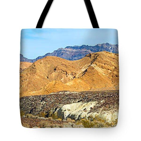 Mountain Range, Borax Mine, Death Tote Bag