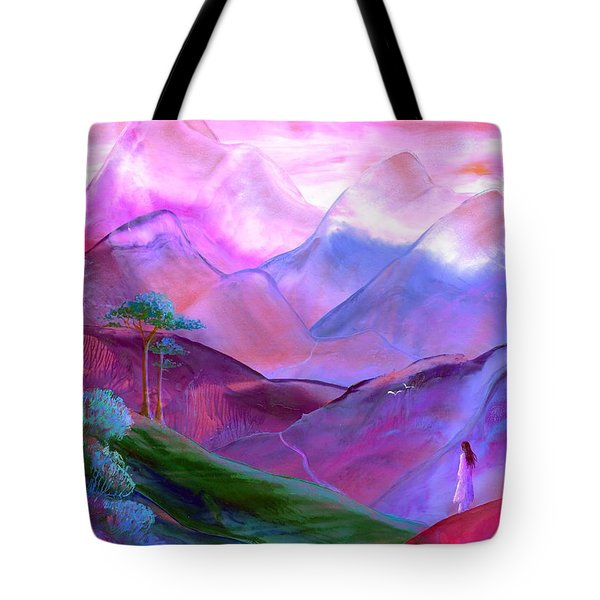 Mountain Reverence Tote Bag