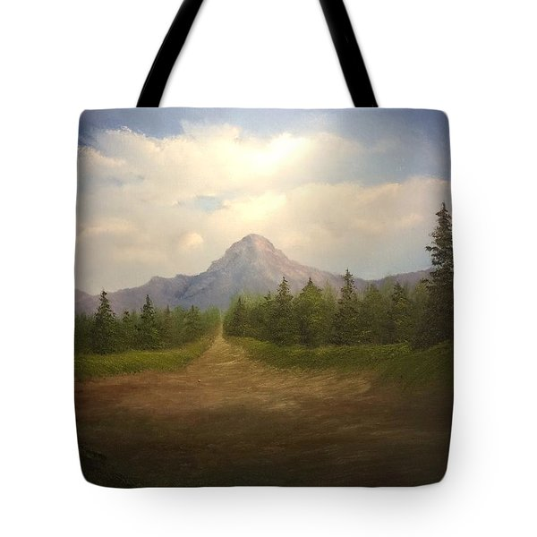 Mountain Run Road  Tote Bag