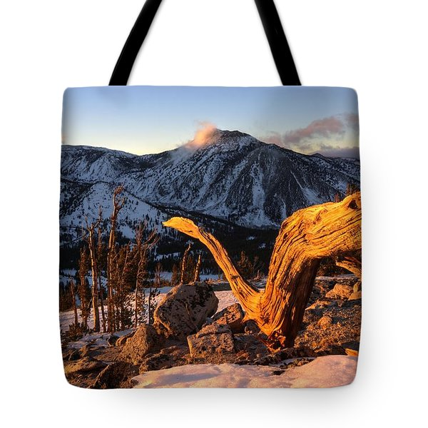 Mountain Snake Tote Bag