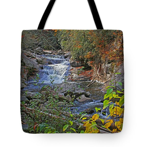 Mountain Splendor Tote Bag by HH Photography of Florida
