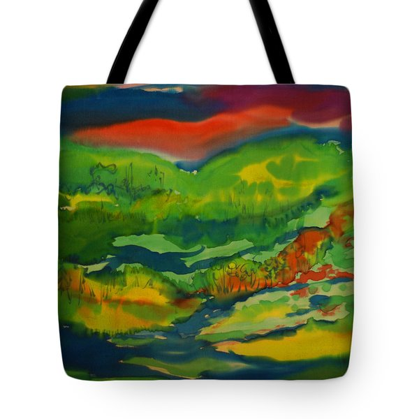 Mountain Streams Tote Bag by Susan D Moody