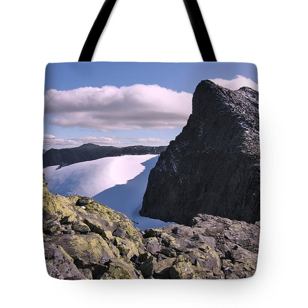 Mountain Summit Ridge Tote Bag