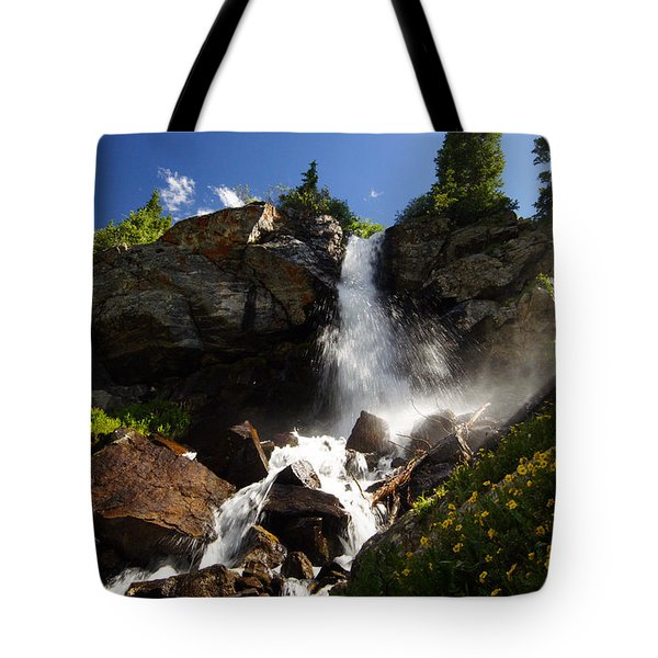 Mountain Tears Tote Bag