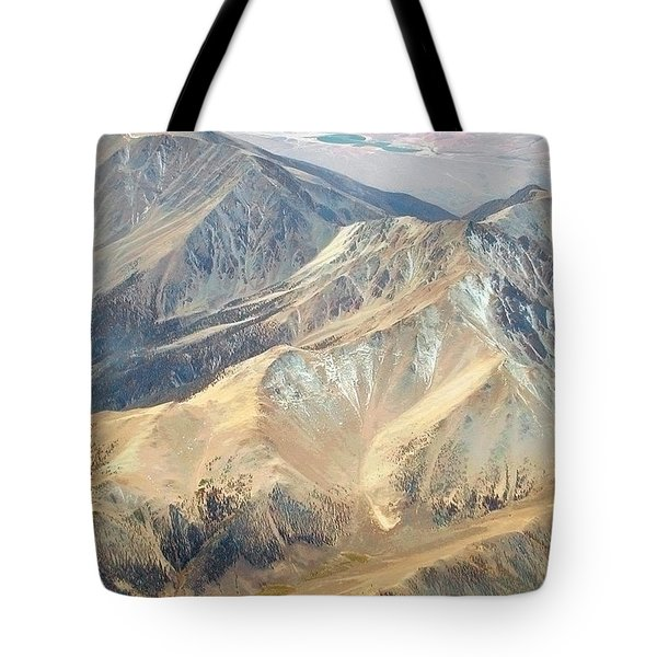 Tote Bag featuring the photograph Mountain View 2 by Mark Greenberg