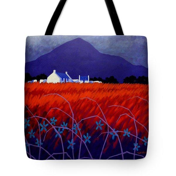 Mountain View  Tote Bag by John  Nolan