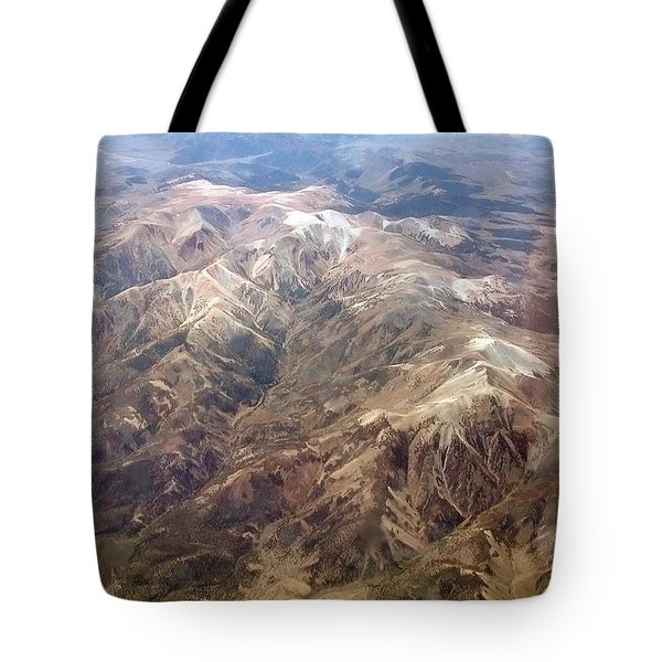 Tote Bag featuring the photograph Mountain View by Mark Greenberg