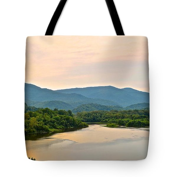 Mountain View Tote Bag by Frozen in Time Fine Art Photography