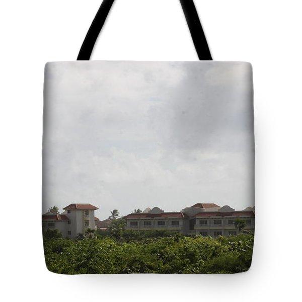 Mountain Villa Tote Bag