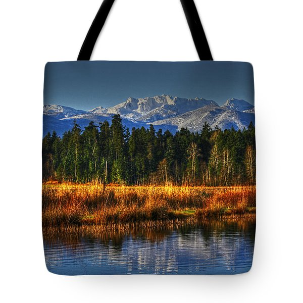 Mountain Vista Tote Bag by Randy Hall