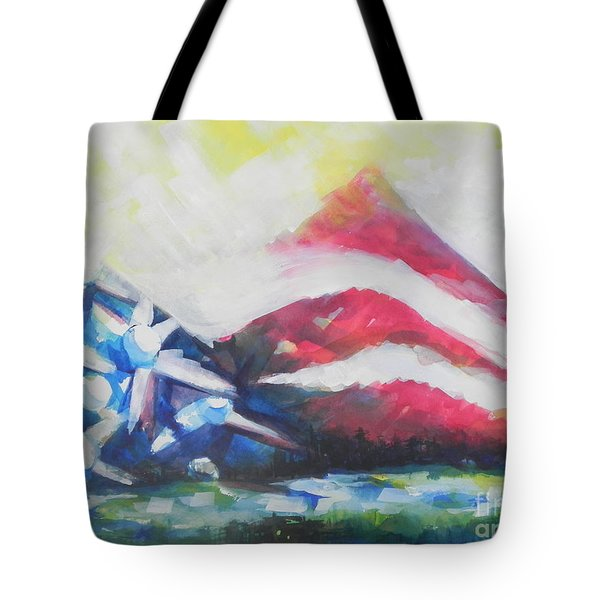 Mountains Of Freedom Two Tote Bag