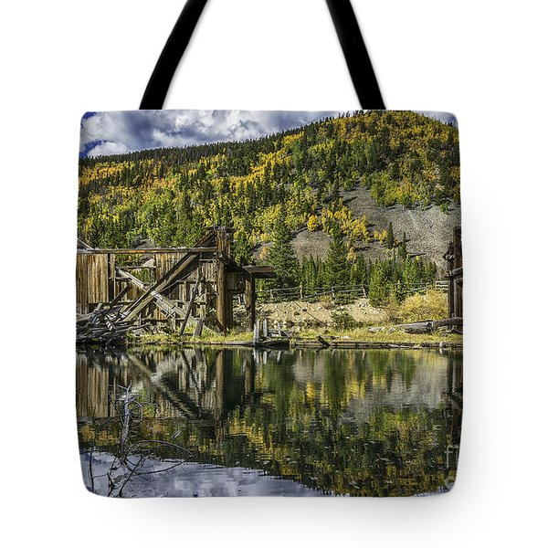 Mountains Of Gold Tote Bag