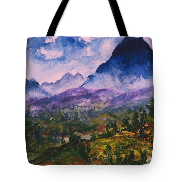 Mountains Of Pyrenees  Tote Bag