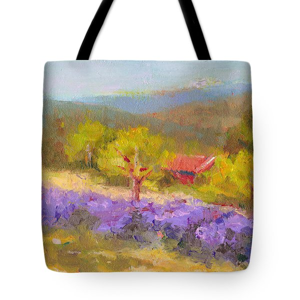 Mountainside Lavender   Tote Bag