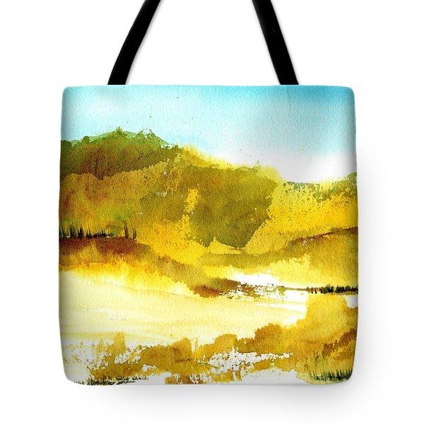 Mountan Desert Tote Bag
