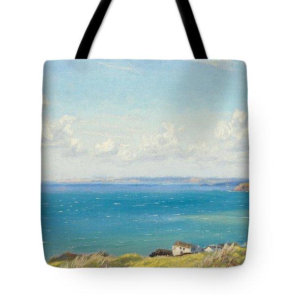 Mount's Bay C1899 Tote Bag by Arthur Hughes