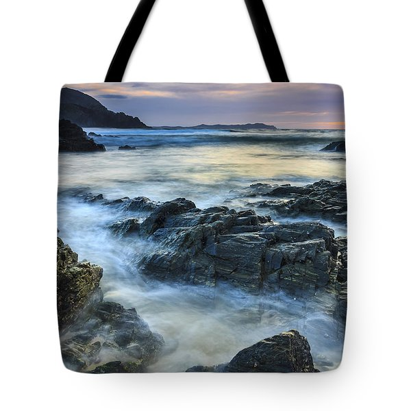 Tote Bag featuring the photograph Mourillar Beach Galicia Spain by Pablo Avanzini